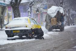 آخر هفته بارانی/ برف در ارتفاعات و مناطق سردسیر