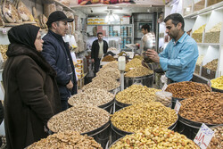 New Year shopping at Tabriz Grand Bazaar