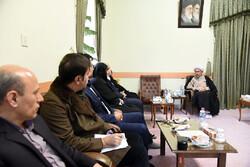 مشاور رییس جمهور با نماینده ولی فقیه در فارس دیدار کرد