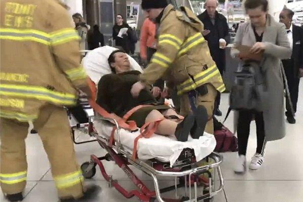 حداقل ۳۰ زخمی در حادثه پرواز استانبول به نیویورک