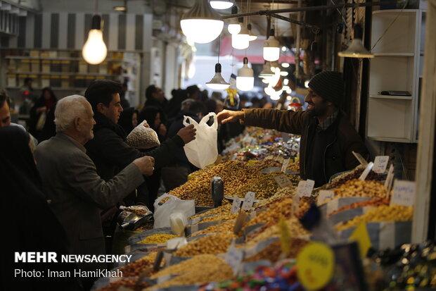 بازار شیرین شب عید همدان