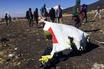 VIDEO: Latest footage of site where Ethiopian plane crashed