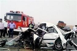 ۴۰۷ نفر در سوانح جاده ای کرمانشاه کشته شدند/محور کرمانشاه - کامیاران در صدر حوادث