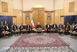 Rouhani hopes for effective meetings in Iraq