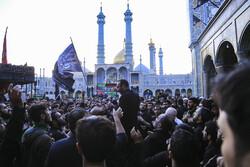 قم میں حضرت امام ہادی (ع) کی شہادت کی مناسبت سے عزاداری