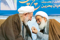 Qom Seminary teachers honor Sheikh Isa Qassim