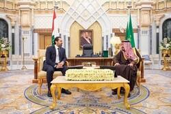 دیدار نخست وزیر لبنان با پادشاه عربستان