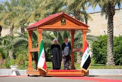 ایران کے صدر حسن روحانی کا عراق کا دورہ