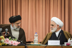 Justice departments' officials meet with new judiciary chief