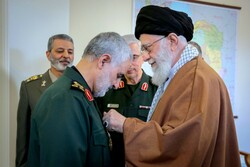 Ayatollah Khamenei's statements when awarding Maj. Gen. Soleimani with Order of Zolfaqar