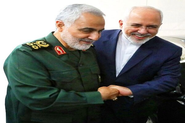 FM Zarif congratulates Gen. Soleimani over receiving special military order