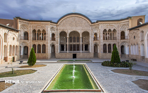 Authenticity of Iranian architecture, culture in Kashan
