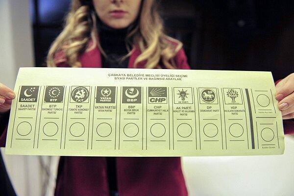 31 Mart'ta kullanılacak oy pusulaları tanıtıldı