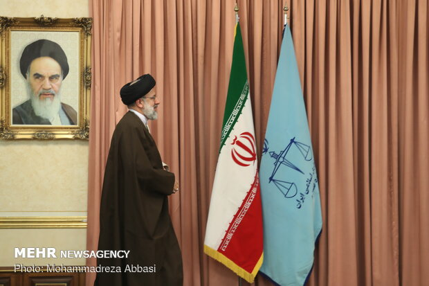 Introduction ceremony of new Judiciary chief