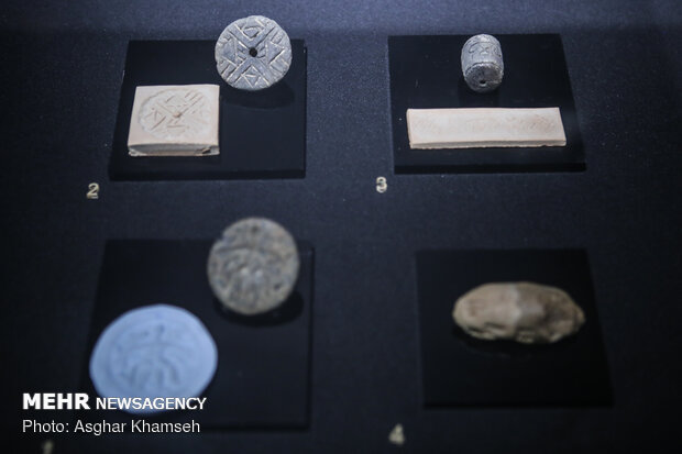 معرض لمختارات من أربعة عقود من الاكتشافات الأثرية في إيران