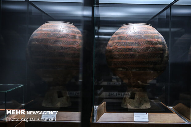 An exhibition of 4 decades of Iran archaeological discoveries