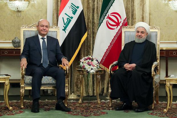 In joint declaration, Iran, Iraq stress 'strategic' cooperation