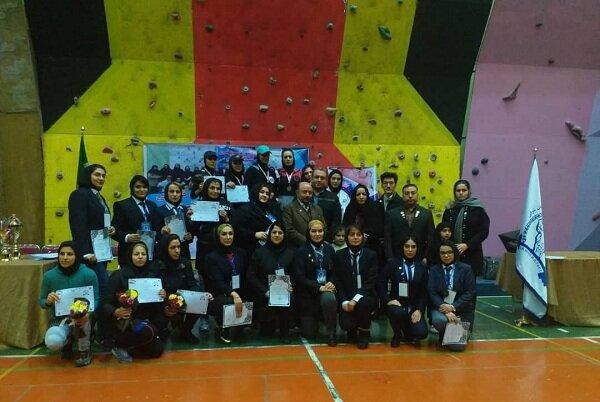 رقابت قهرمانان جهانی درمسابقات بانوان هیئت بدنسازی آذربایجان شرقی