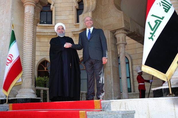 President Rouhani calls for solidifying Iran-Iraq ties
