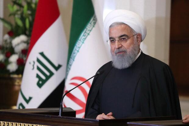 الرئيس روحاني يصل الى كربلاء المقدسة