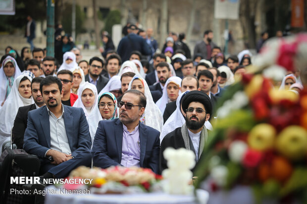 600 Tehran Uni. students wed in mass ceremony