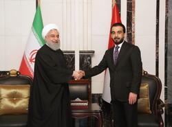 روحاني والحلبوسي يبحثان سبل تطویر علاقات بين ايران والعراق