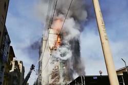 کراچی کی عمارت میں آتشزدگی سے 2 افراد ہلاک