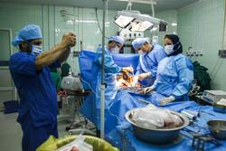 اهداء عضو بیمار مرگ مغزی در بیمارستان کیش