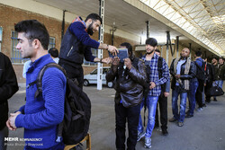 اعزام ۱۳۵ دانشجوی بسیجی نهاوند به مناطق عملیاتی جنوب کشور