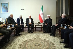 Rouhani hails Popular Mobilization role in Iraq's stability
