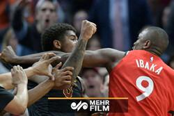 مسابقه بسکتبالی که به رینگ بوکس تبدیل شد