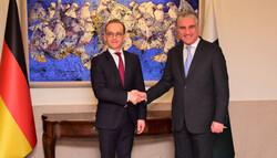 جرمن وزیر خارجہ کی شاہ محمود قریشی سے ملاقات