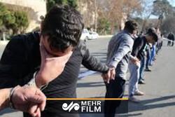 دستگیری ۷۷۰ سارق در تهران