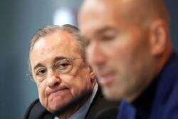 گزینه اول رئیس رئال مادرید «زیدان» نبود!