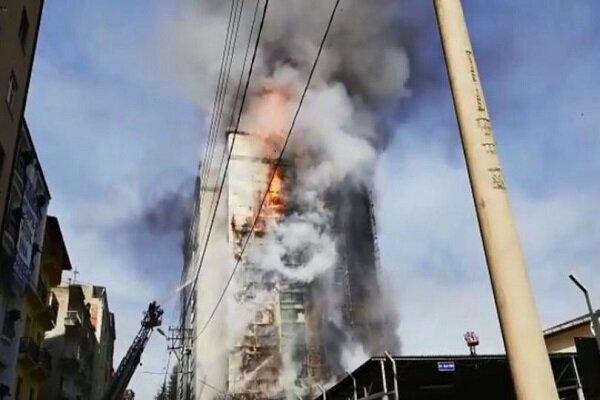 Trabzon'da Avrasya Üniversitesi'nde büyük yangın
