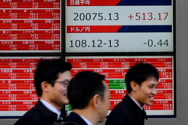 تداوم افت سهام آسیایی با داغتر شدن جنگ تجاری