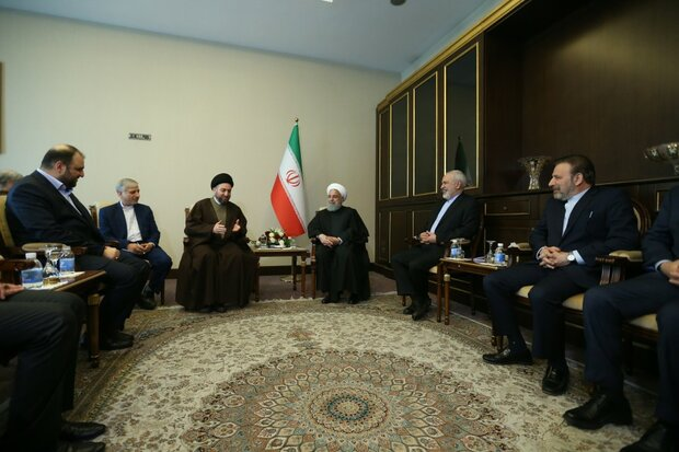Rouhani meets with head of Iraq's National Wisdom Movement