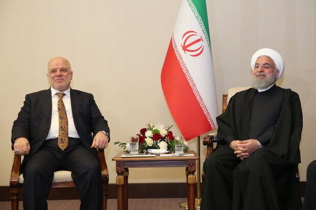 روحاني يدعو لبذل المزيد من الجهود لتطوير التعاون متعدد الاطراف بين دول المنطقة