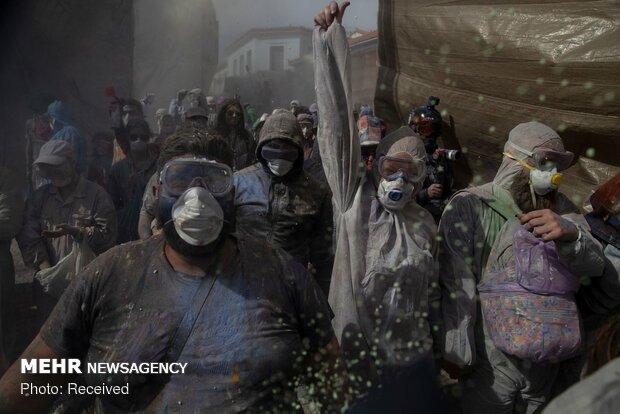 جنگ آرد در یونان
