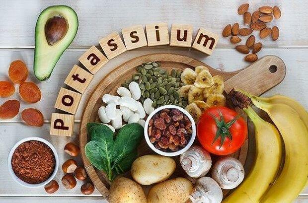 فواید مواد خوراکی حاوی پتاسیم بر سیستم عصبی و قدرت عضلات