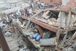 Nijerya'da okul çöktü, enkaz altındakiler kurtarılmaya çalışılıyor