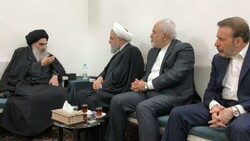 Cumhurbaşkanı Ruhani, Irak'ın kutsal kenti Necef'te