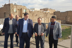 معاون وزیر کشور از بافت قدیمی قزوین دیدن کرد