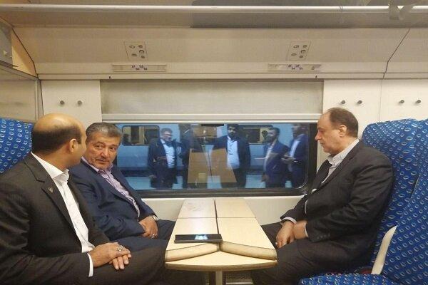 قطار تهران - همدان آغاز به کار کرد