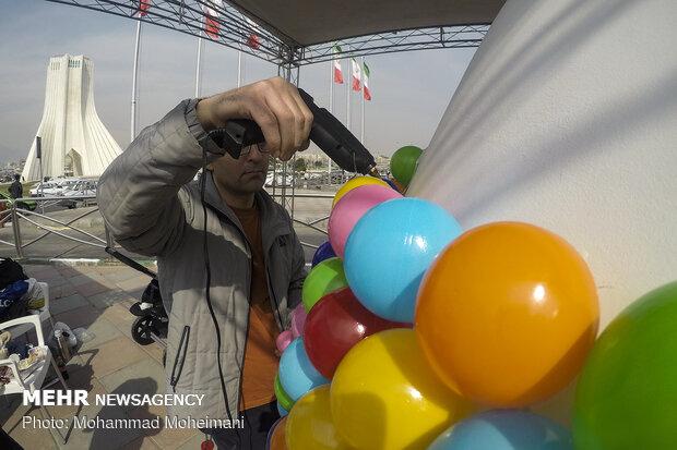 Nowruz egg painting festival