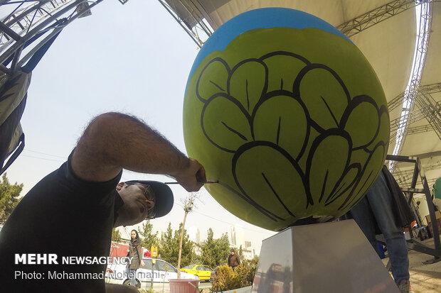 جشنواره تخم مرغ رنگي در تهران
