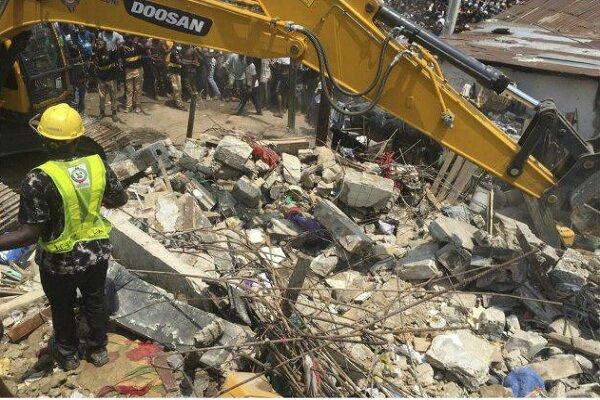 ساختمان مدرسهای در نیجریه فروریخت/ ۱۰۰ کودک زیر آوار هستند