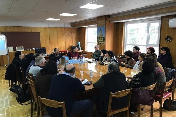 Panel on Iranian studies held in Georgia