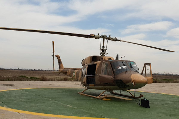 Army dispatches helicopters to flood-stricken Lorestan prov.