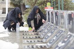 مراسم پنجشنبه و جمعه آخر سال در آرامستان باغ بهشت همدان لغو شد